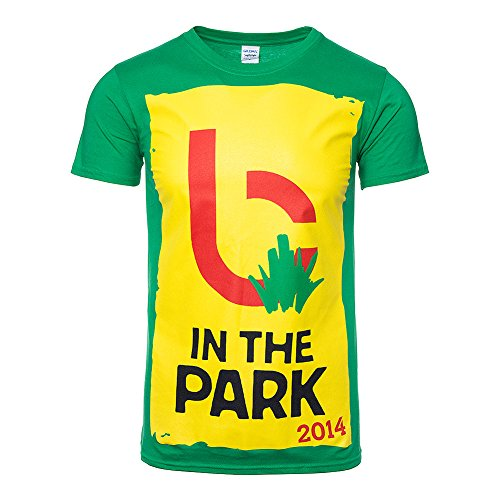 T Shirt B in the Park Biffy Clyro (Verde) - Small