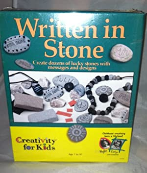 CREATIVITY FOR KIDS Written in Stone Craft Kit at Sears.com
