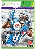 Madden NFL 13 X360 - Xbox 360 Standard Edition
