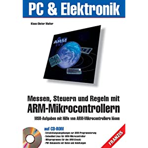 eBook Cover für  Messen Steuern und Regeln mit ARM Mikrocontrollern