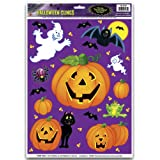 Pumpkin Patch Clings Party Accessory (1 count) (12/Sh)