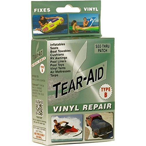 Tearaid vinyl repair patch kit