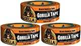 12yd Black Gorilla Tape (Pack of 3)