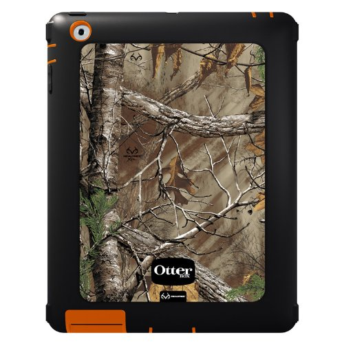 OtterBox Defender Series Case with Screen Protector and Stand for the New iPad (4th Generation), iPad 2 and 3 - Realtree Camo