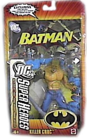 : DC SUPERHEROES JUSTICE LEAGUE UNLIMITED KILLER CROC Figure