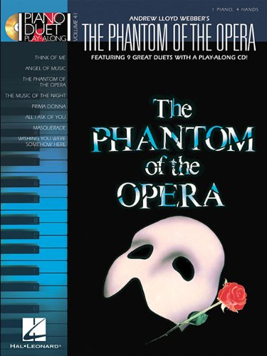 The Phantom of the Opera: Piano Duet Play-Along Volume 41