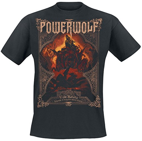 Powerwolf Vade Satana - Metal Is Religion T-Shirt nero 3XL