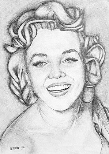 marilyn-monroe-165-x-117-original-artwork-fast-delivery-norma-jeane-mortenson-pencil-portrait-gift-p