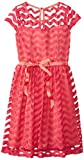 Speechless Big Girls Dress with Patterned Overlay