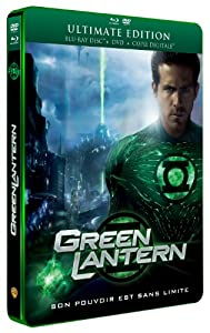 Green Lantern [Ultimate Edition boîtier SteelBook - Combo Blu-ray + DVD + Copie Digitale]