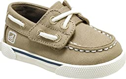 Sperry Top-Sider Cruz Crib JR Boat Shoe (Infant/Toddler),Khaki,3 M US Infant