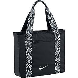 Nike Womens Legend 2.0 Track Tote Bag Black/Grey