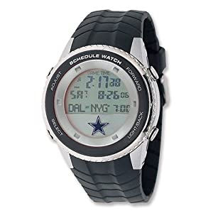 Mens NFL Dallas Cowboys Schedule Watch by Jewelry Adviser Nfl Watches