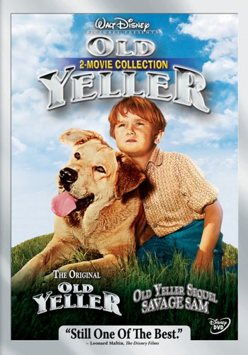 51MYY6A4SSL Old Yeller 2 Movie Collection (Old Yeller/Savage Sam)
