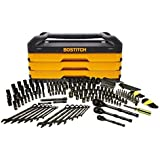 Bostitch 235-Piece Master Tool Socket and Ratchet Set with Chest and Drawers for Handyman House and Garage Work or on the Construction Site or for Auto Mechanic