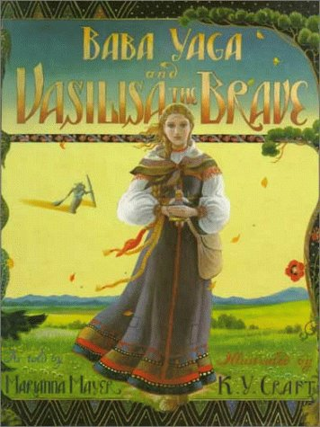 Baba Yaga and Vasilisa the Brave
