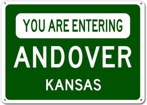 Andover, Kansas city sign