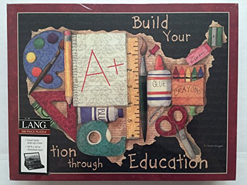 A+ for Education Teachers Lang 500 Piece Jigsaw Puzzle