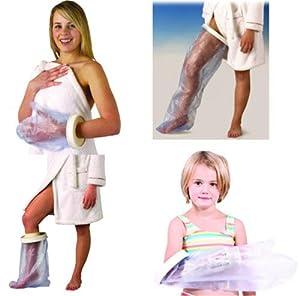 protection etanche pour pansement ou platre enfant protection 1 2 jambe hygi ne et. Black Bedroom Furniture Sets. Home Design Ideas