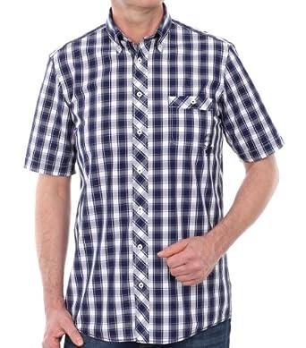CASAMODA Herren Regular Fit Freizeithemd 941909600-100, Gr. Medium, Kragenweite: 40 cm, Blau