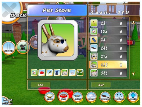 303 Pets - Includes Bunny, Kitty and Pony  screenshot