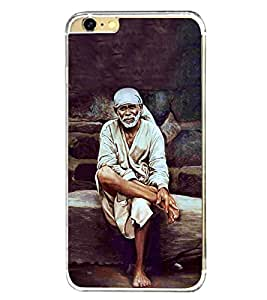 Sai Baba 2D Hard Polycarbonate Designer Back Case Cover for Apple iPhone 6S