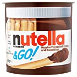 Nutella Ferrero & Go Hazelnut Spread with Cocoa and Breadsticks 48g 12x