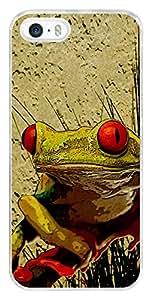 Apple iPhone SE Back Cover ,Premium Quality Designer Printed 2D Transparent Lightweight Slim Matte Finish Hard Case Back Cover for Apple iPhone SE by Tamah