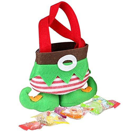 Natale Candy Bag Calze Elfo Natale regalo vacanze decorazione forniture