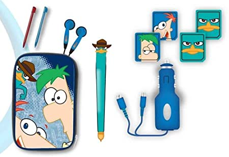 Disney Phineas and Ferb 10 in 1 Gamer Kit