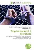 echange, troc Frederic P. Miller, Agnes F. Vandome, John McBrewster - Emprisonnement Perptuit