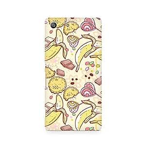 Ebby Sweet Banana Premium Printed Case For Sony Xperia M5