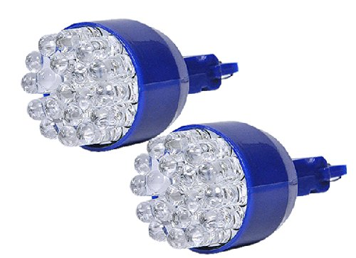 19 Led 3056, 3156, 3157, 3356, 3456 Blue Front Turn Singal Light Bulbs 2Pcs