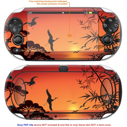 Decalrus Matte Protective Decal Skin Sticker for Sony PlayStation PSP Vita Handheld Game Console case cover Mat_PSPvita-134