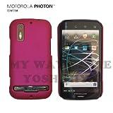 MOTOROLA PHOTON™ ISW11M ハードケース (au by KDDI)【H Pink(ホットピンク)】NEW MODEL