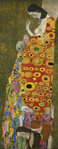 Klimt Hope Wooden Jigsaw Puzzle