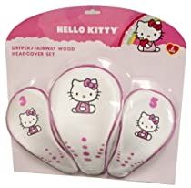 "Hello Kitty Golf ""The Collection"" Headcover Combo Set"