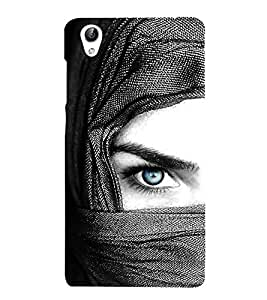 Vizagbeats Blue Eye Lady Back Case Cover for Oppo A37