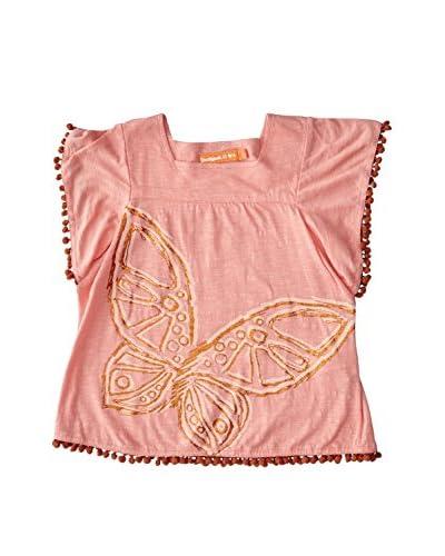 Desigual T-Shirt Manica Corta Genlisea Rep [Rosa]