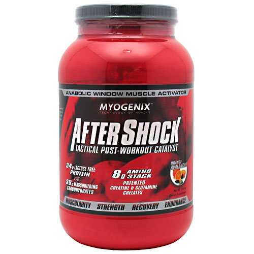 Myogenix Aftershock Orange Avalanche , 2.64 Pound