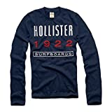 Hollister Co. NEWPORT PENINSULA T-SHIRT Vintage Wash Embroided Graphic Tee