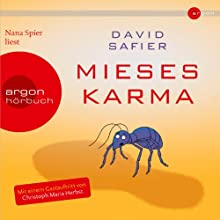 Mieses Karma Audiobook by David Safier Narrated by Nana Spier