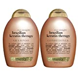 Organix Brazilian Keratin Therapy Shampoo & Conditioner (Combo) 385ml