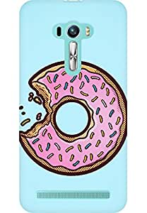 AMEZ designer printed 3d premium high quality back case cover for Asus Zenfone Selfie (donut)