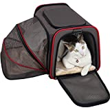 """Petsfit 18""""x11""""x11"""" Expandable Foldable Washable Travel Carrier, Not All Airline-Approved Pet Carrier Soft-sided"""