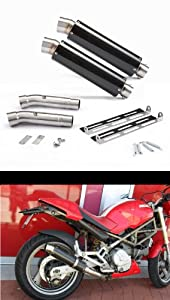 Danmoto EX-00168 Carbon GP Exhaust for Ducati Monster