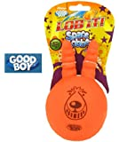 Space Lobber Latex Squeaking Dog Toy (Size: Small)