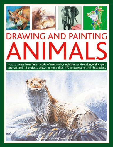 Drawing and Painting Animals: How to create beautiful artworks of mammals, amphibians and reptiles, with expert tutorials and 14 projects shown in more than 470 photographs (Drawing & Painting)