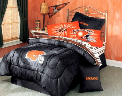 NFL Cleveland Browns - Denim BED IN A BAG - Twin Size