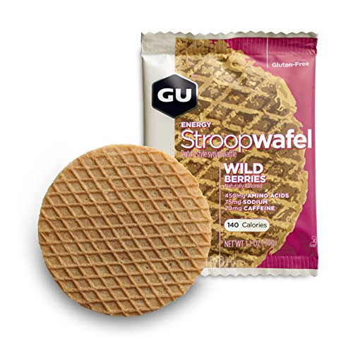 GU Energy Labs Stroopwafel Organic Sports Nutrition Waffle, Wild Berry, 16 Count (Energy Lab compare prices)